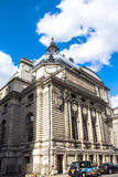 Historic building on the Matthew Parker street. London. UK Royalty Free Stock Photo