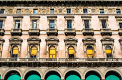 Historic building in Milan Stock Photography