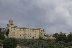 Historic building of Montefalco Royalty Free Stock Images