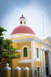 Historic building in Old San Juan - Puerto Rico Royalty Free Stock Images