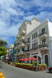 Historic building in Old San Juan, Puerto Rico Royalty Free Stock Image