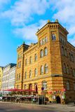 Historic building in the old town of Stralsund, Germany stock photos