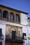 Historic Building in the old town in the stylish resort of Marbella on the Costa Del Sol in Andalucia Spain Royalty Free Stock Photography