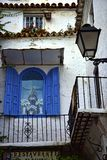 Historic Building in the old town in the stylish resort of Marbella on the Costa Del Sol in Andalucia Spain Royalty Free Stock Photo
