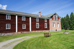 Historic building open space in Finland Royalty Free Stock Images