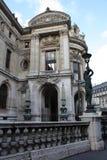 A historic building in Paris. Façade of a historic building in Paris royalty free stock images