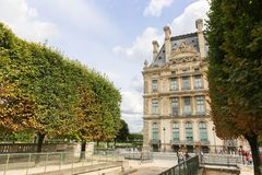 Historic Building at Paris Royalty Free Stock Photography