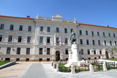 Historic building in Pecs, Hungary Royalty Free Stock Photos