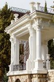 Historic building on Pushkin alley in city Yalta. Stock Photography