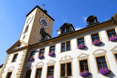 Historic building in Regensburg Royalty Free Stock Images