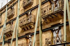 Historic Building Restoration in Salamanca, Spain royalty free stock photos