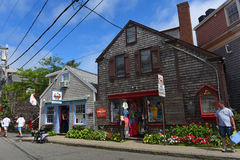 Historic Building in Rockport, Massachusetts Royalty Free Stock Image