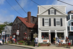 Historic Building in Rockport, Massachusetts Royalty Free Stock Images