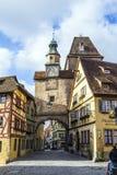 Historic building in Rothenburg ob der Tauber Stock Photos