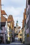 Historic building in Rothenburg ob der Tauber Stock Photo