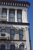Historic building at The San Diego's Gaslamp Quarter Royalty Free Stock Photography