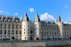 Historic building on the Seine river - Paris, France Royalty Free Stock Photography