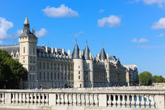 Historic building on the Seine river - Paris, France Royalty Free Stock Image