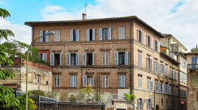 Historic building of Siena, Italy Royalty Free Stock Photography