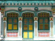 Historic building in Singapore Stock Photography