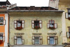 Historic Building in Skofja Loka 1 Stock Photo