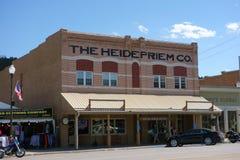 An historic building in south dakota Royalty Free Stock Photos