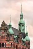 Historic building at Speicherstadt Hamburg Royalty Free Stock Image