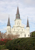 Historic building St. Louis Cathedral   Royalty Free Stock Photos