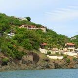 Historic Building at St. Thomas Island, US Virgin Islands, USA Stock Photography