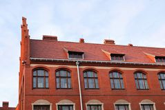 Historic building in Torun, Poland Stock Photos