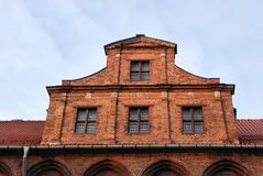 Historic building in Torun, Poland Royalty Free Stock Photography