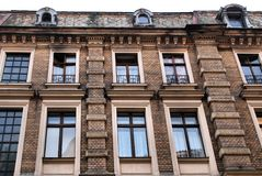Historic building in Torun, Poland Royalty Free Stock Images