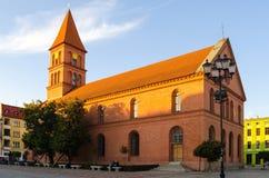 Historic building in Torun, Poland. Stock Photo