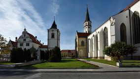 Town Hall & Cathedral of St. Jacob, Levoca, Slovakia Royalty Free Stock Photo