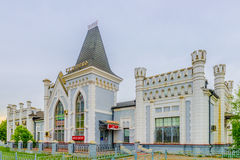Historic building train station ticket office and waiting room Stock Photography