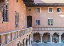 Historic building of university Royalty Free Stock Photo