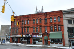 Historic Building in Utica, New York State, USA Stock Photos
