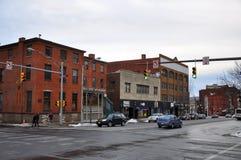 Historic Building in Utica, New York State, USA Stock Photo