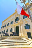 Historic building in Valletta, Malta. Royalty Free Stock Image