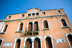 Historic building in Venice Stock Photo