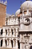Historic building in Venice in Italy Stock Photography
