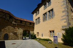 Historic building on the VESTE COBURG castle in Coburg, Germany Stock Photography