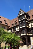 Historic building on the VESTE COBURG castle in Coburg, Germany Stock Image