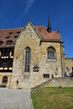 Historic building on the VESTE COBURG castle in Coburg, Germany Stock Images
