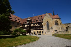 Historic building on the VESTE COBURG castle in Coburg, Germany Stock Photos