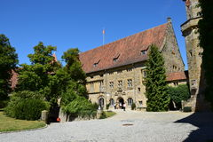 Historic building on the VESTE COBURG castle in Coburg, Germany Royalty Free Stock Image