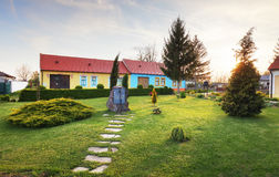 Historic building in village Slovakia Cifer - Jarna Royalty Free Stock Images