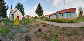 Historic building in village Slovakia Cifer - Jarna Stock Photography