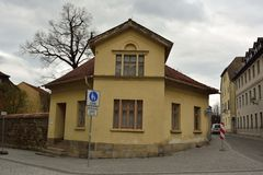 Historic building in Weimar Stock Image