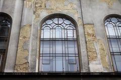 Historic building windows Royalty Free Stock Photos